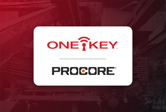 One-Key tool tracking app now integrates with construction project management giant, Procore