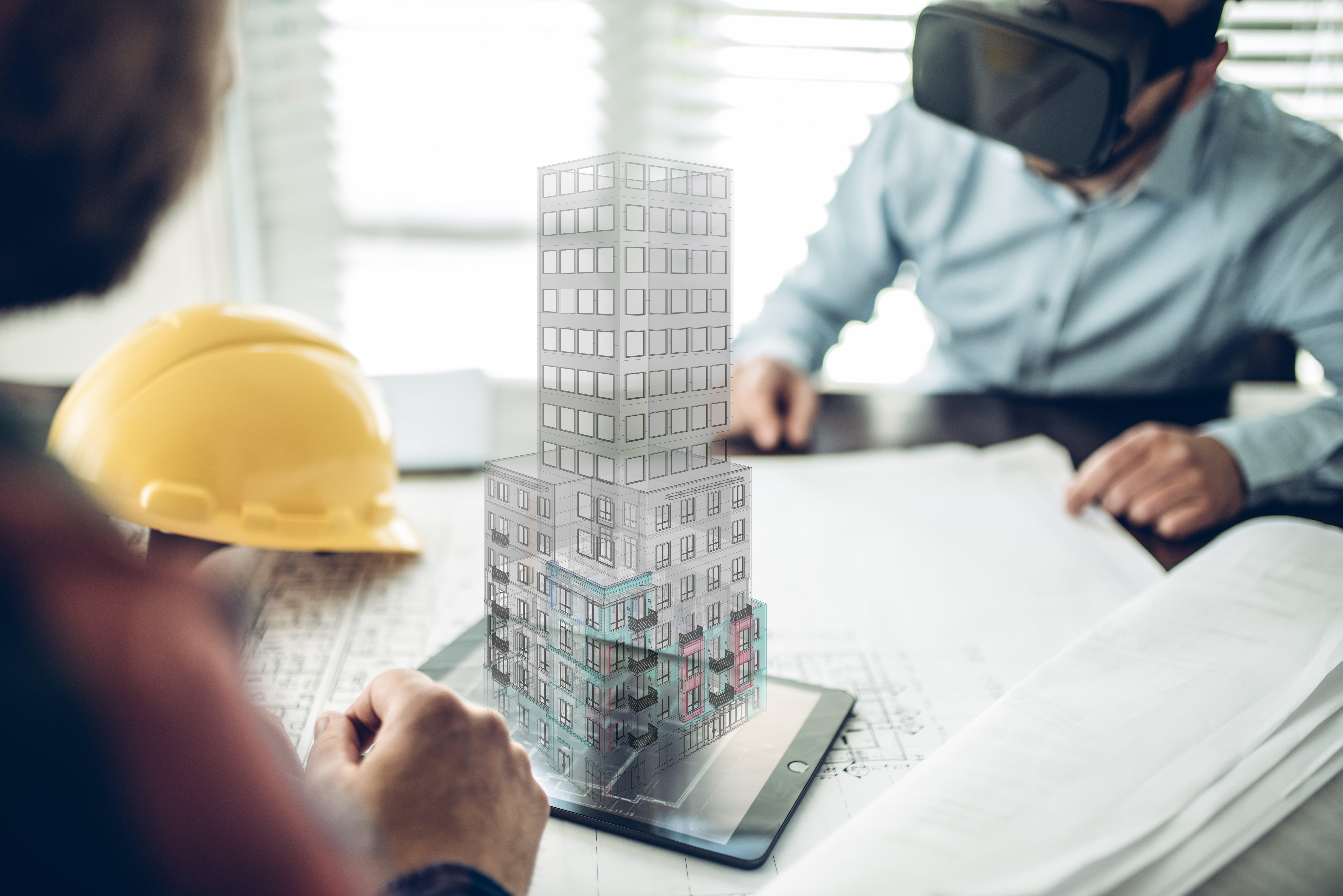 architects-BIM-visualization-of-multi-dimenstional-building
