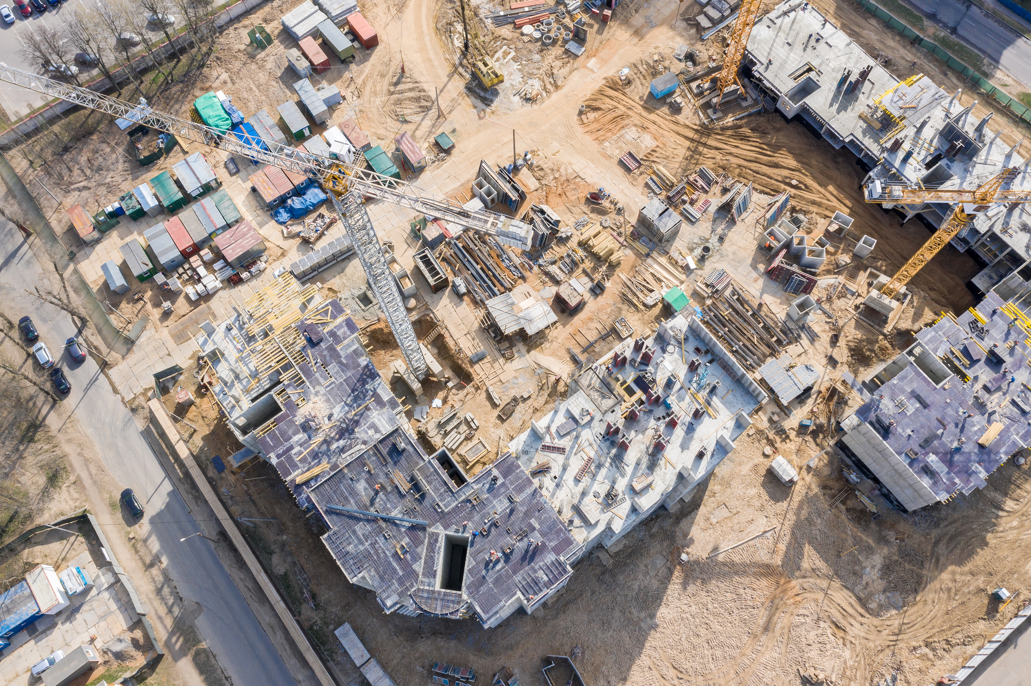 arial-drone-construction-site