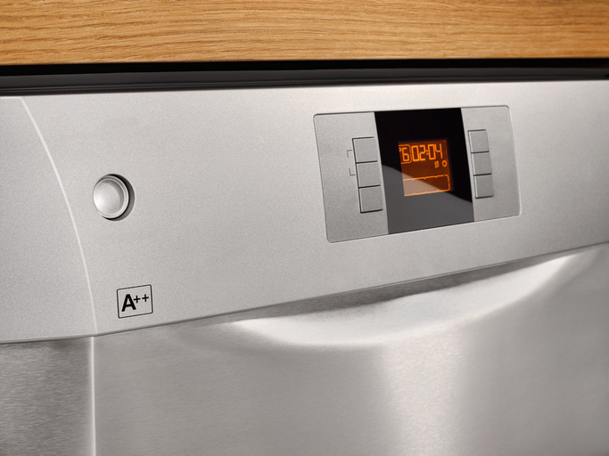 An energy-efficient dishwasher has A++ rating