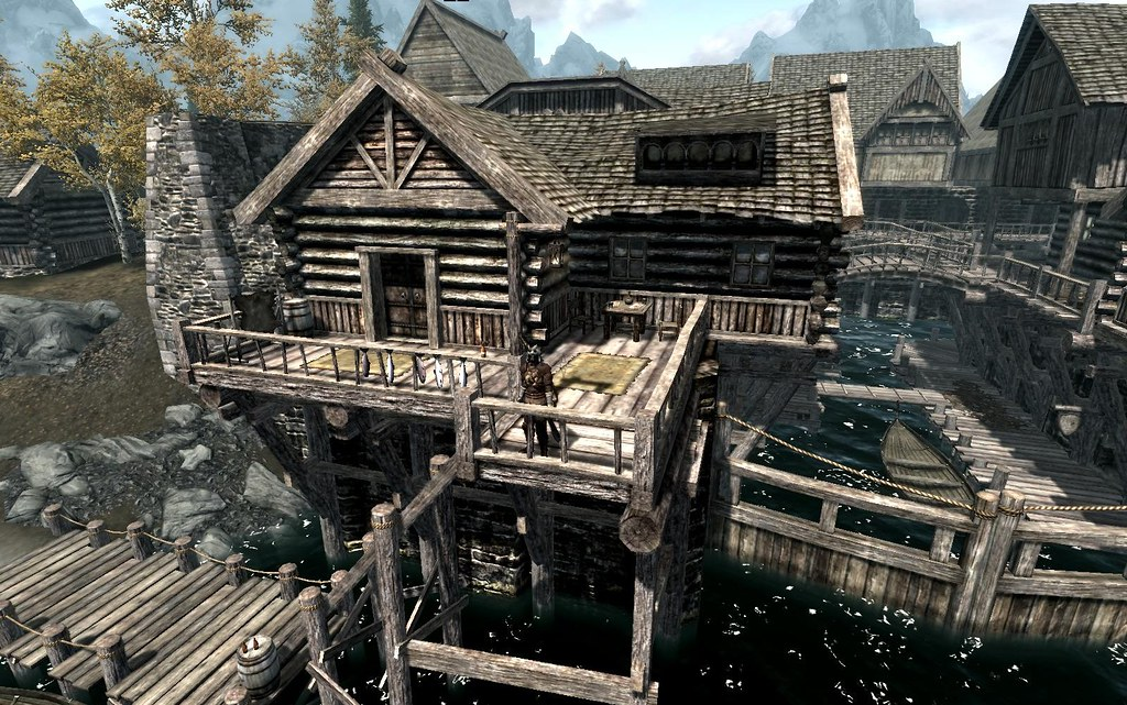 skyrim-house