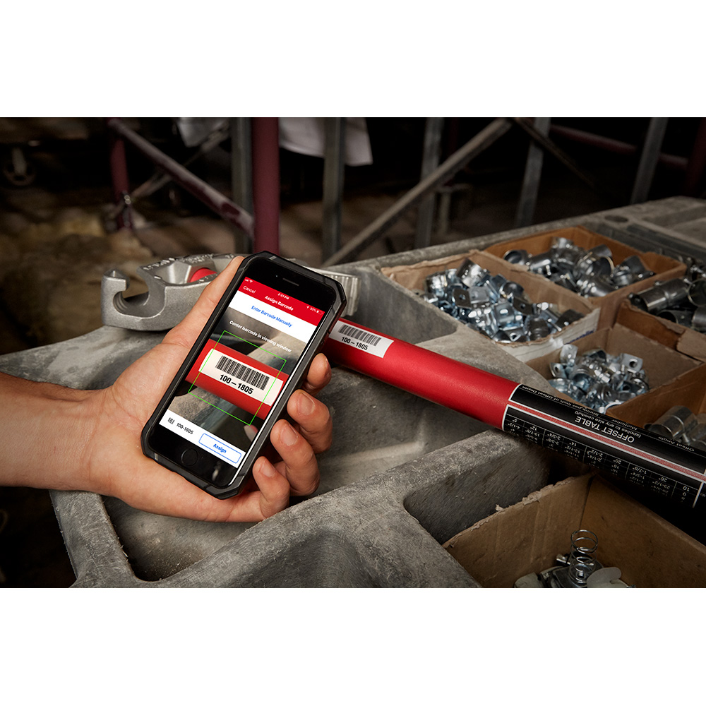 One-Key app lets you scan barcodes to keep track of your tools and equipment