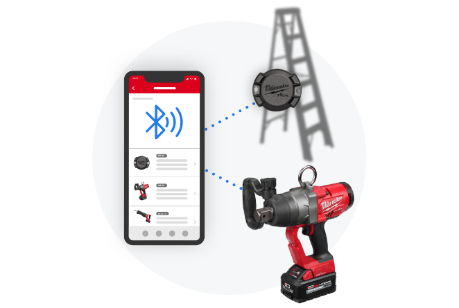 One-Key app lets you track your tools in real-time using bluetooth