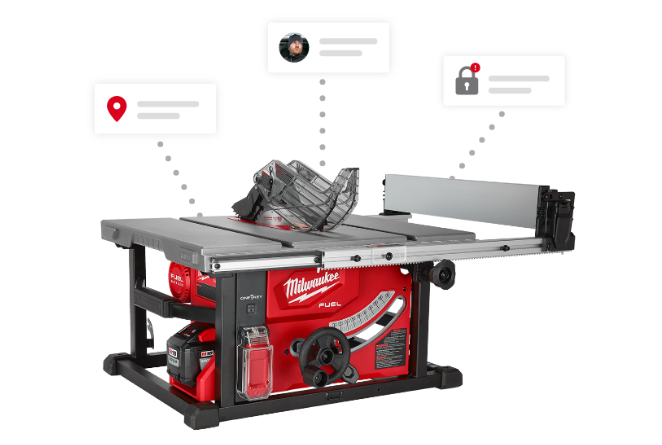 Milwaukee tool security lets you lock out tools remotely with the One-Key app